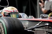 Lewis Hamilton  during European Grand Prix Formula 1 — Stock Photo