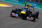 Mark Webber during  European Grand Prix Formula 1 — Foto de Stock