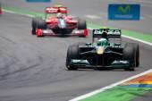European Grand Prix Formula 1 — Zdjęcie stockowe