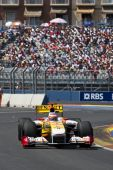 Alonso during Formula 1 Grand Prix of Europe — Foto Stock