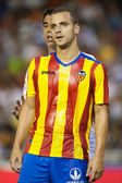 Roberto Soldado during the Football Party Presentation match — Stock Photo