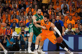 Doubljevic  and Vougioukas in action — Stock Photo