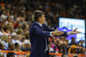 Valencia Basket Club coach Velimir Perasovich — Stock Photo