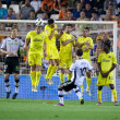 Juan Manuel Mata takes a free kick — Stock Photo #57370907