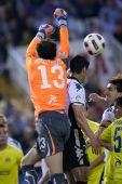 Goalkeeper Diego Lopez in action — Foto Stock