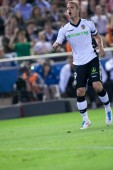 Roberto Soldado in action — Stockfoto