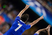 Raul Gonzalez during the game — Stock Photo