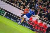 Klaas-Jan Huntelaar in action — Stock Photo