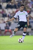 Ricardo Costa in action during the game — Stock Photo