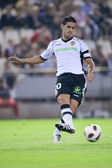 Ricardo Costa in action during the game — Zdjęcie stockowe