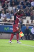 Pierre Webo during the game — Stock Photo
