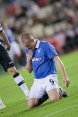 Kenny Miller during the game — Stock Photo