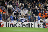 Roberto Soldado celebrates scoring a goal — Stock Photo