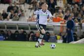 Jeremy Mathieu in action — Stock Photo