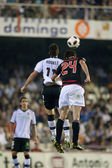 Javier Martinez (R) and  Aritz Aduriz (L) in action — Foto de Stock