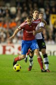 Carlos Andres Diogo during the game — Stock Photo