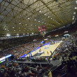 Fans and teams during Eurocup Basketball match — Stock Photo #57712347