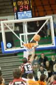 Eurocup game Valencia Basket against Sluc Nancy Basket — Photo