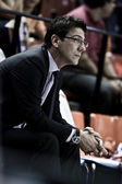 Fotis Katsikaris during the game — Stock Photo