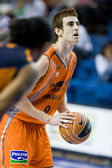 Victor Claver during the game — Stock Photo