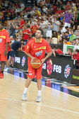 Spanish Team players — Foto Stock
