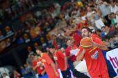 Juan Carlos Navarro during the game — Stock Photo