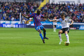 Jose Gaya (R) and Mohamed Lamine Sissoko (L) in action — Zdjęcie stockowe