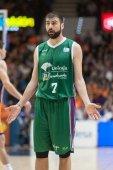Kostas Vasileiadis during the game — Zdjęcie stockowe