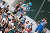 Athlete during performance at Red Bull Art of Wake — Foto de Stock
