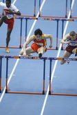 Liu Xiang of China during 12th IAAF World Indoor Championships — Stock Photo