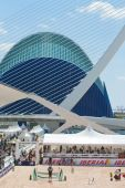 Principe Felipe Science Museum of the City of Arts and Sciences — Stock Photo