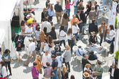 People at Principe Felipe Science Museum of the City of Arts and Sciences — Stock Photo