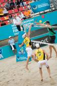 Europese Beach Volleybal Championship — Stockfoto