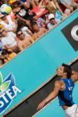 European Beach Volleyball Championship — Stockfoto