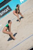 European Beach Volleyball Championship — 图库照片