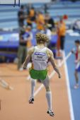 Steven Hooker competes in the Men's pole vault — Stockfoto