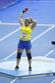 Helena Engman at the Qualification of Women's shot put — Stock Photo