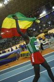 Deresse Mekonnen at the Men's 1500 metres Final — Stock Photo