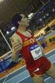 Juan Carlos Higuero after Men's 1500 metres Final run — Stock Photo