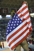 Lori LoLo Jones of USA celebrate — Foto Stock