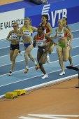 Mutola, Lewis and  Petlyuk competes in Women's 800 metres final — Stock Photo