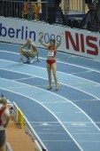 Martinez competes in Women's 800 metres final — Stock Photo