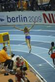 Soboleva competes in the Women's 1500 metres — Stok fotoğraf