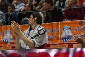 Boban Marjanovic on the bench — Stock Photo