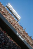Mestalla stadium during match — Stock Photo