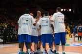 CSU Asesoft Ploiesti players — Stock Photo