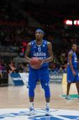 Alhaji Mohammed during free throw — Stock Photo