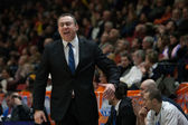 Head coach CSU Asesoft Ploiesti Vladimir Arnautovic — Stock Photo