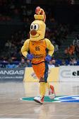 Valencia team mascot — Photo