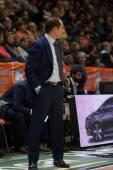 Valencia Basket  coach Carles Duran Ortega — ストック写真
